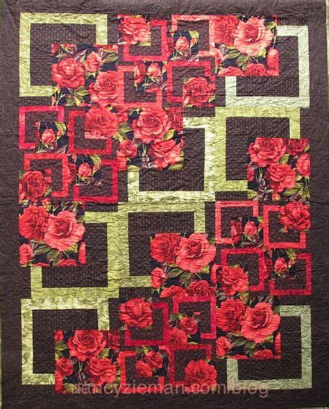 Large Print Quilt Fabric by 18 Quilt Blocks Are The Of A Brand New Tv Show