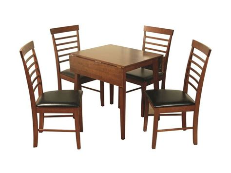 drop leaf table and 4 chairs hanover square drop leaf table with 4 chairs