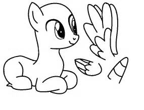 My Pony Drawing Template by Pony Template Base Ms Paint Version By Icey Angel100 On