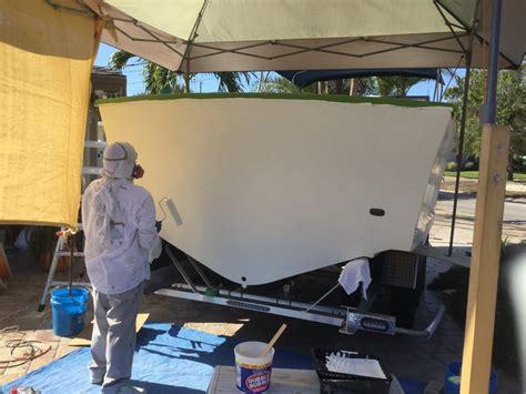 boat transom paint boat resto transom bracket paint the hull truth