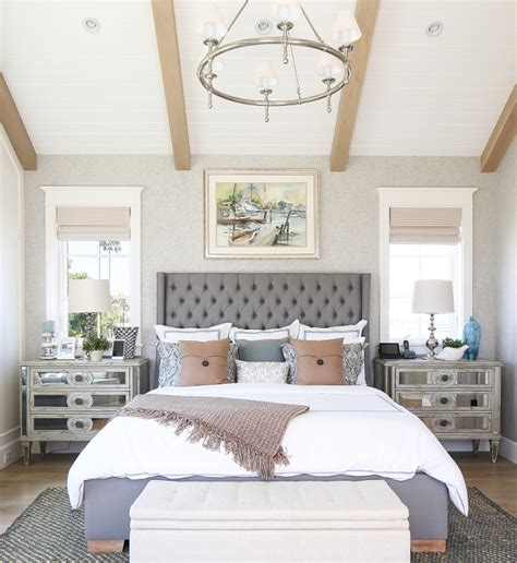 california bedrooms california beach house with modern coastal interiors