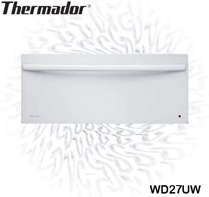 thermador warming drawer 24 thermador wd27uw white warming drawer
