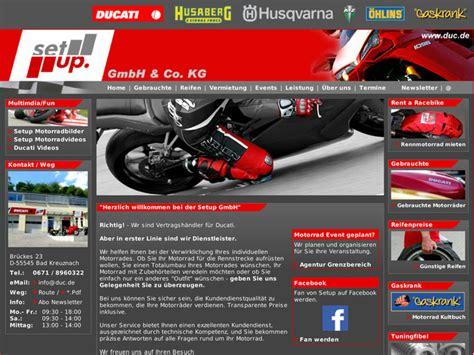 Motorradhandel Bad Kreuznach by Setup Gmbh Co Kg In Bad Kreuznach Motorradh 228 Ndler