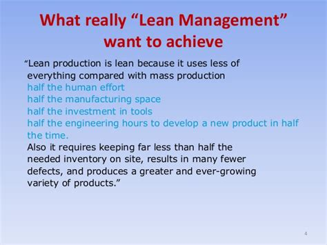Lean Operations And Systems Mba by Lean Thinking Management Topic From Mybskool