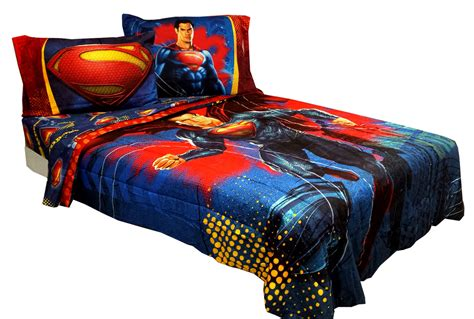 dc comforter compare clark dc comics superman twin bedding set 4pc