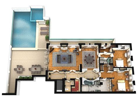 pent house floor plan penthouse suite king george a luxury collection hotel