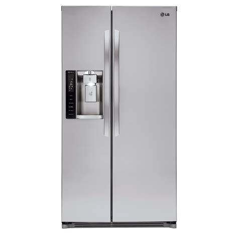 Water Dispenser Lg lg lsxs26326s 26 2 cu ft side by side refrigerator w