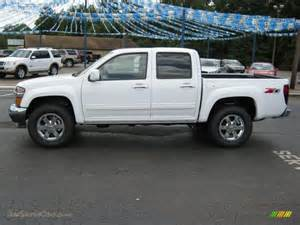 2010 chevrolet colorado lt crew cab 4x4 in summit white