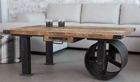 table basse industrielle 40 id 233 es vintage ou design moderne