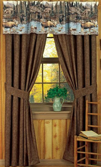 Rustic Curtains And Drapes 17 Images About Cabin On Window Treatments Appliances And Walking