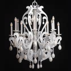 White Painted Chandelier Best 25 White Chandelier Ideas On Painted Chandelier Brass Chandelier Makeover And