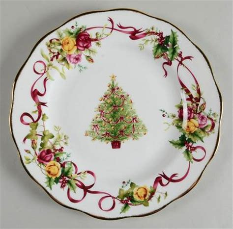royal albert old country roses christmas tree at