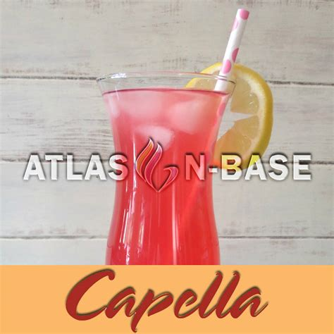 Capella Pink capella pink lemonade 10 ml dolum aroma atlas n base