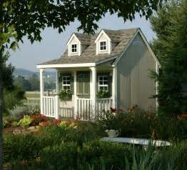 Backyard Cottages by Backyard Cottage Playhouse Homeplace Structures