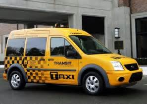 Ford Nyc The Ford Transit Connect Nyc Taxi Cab Of The Future