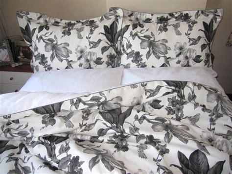 Black Floral Bedding Sets Black And White Flower Duvet Covers Sweetgalas