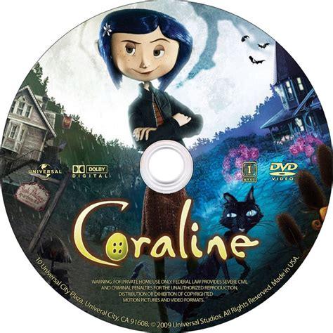 Dvd Etiketten by Coraline Label Custom Dvd Labels Coraline Cd Dvd Covers