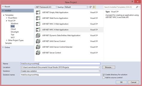 building first asp net mvc application with entity scaffolding in asp net mvc codeproject