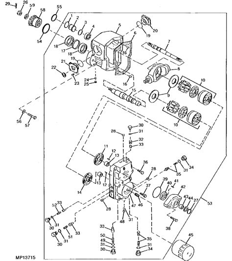 deere 855 parts diagram i a jd 855 compack tractor hydrostaic when i press