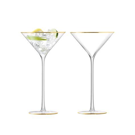 cocktail glass set buy lsa international celebrate cocktail glass set of 2