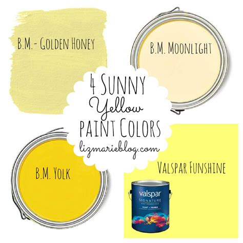 favorite popular best selling shades of yellow paint best yellow paint colors liz marie blog