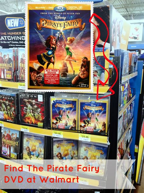 film disney walmart the pirate fairy dvd release blue pixie dust chow