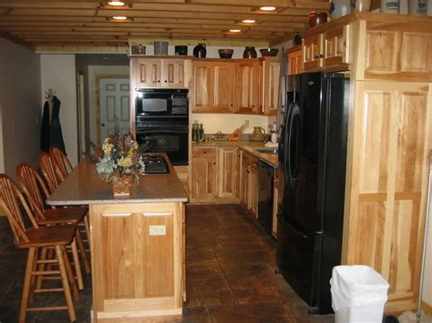 94 best Hickory Cabinets images on Pinterest