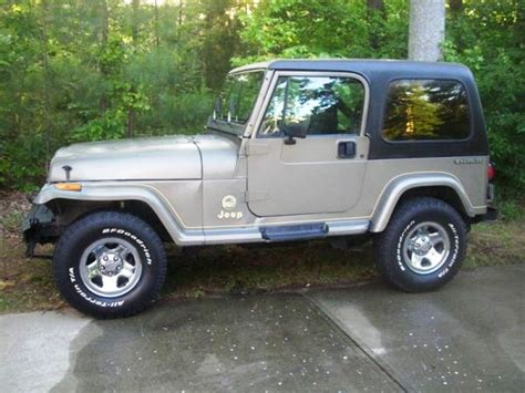 1991 Jeep Wrangler Sale 1991 Jeep Wrangler For Sale The Hull Boating And