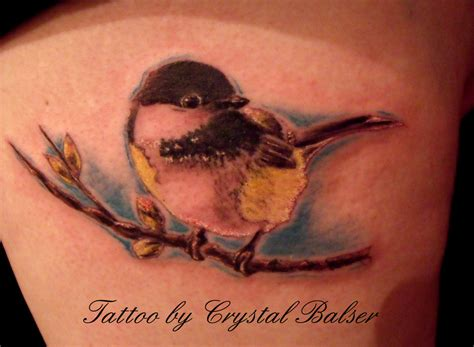 chickadee tattoo watercolor chickadee www pixshark images