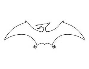 pterodactyl pattern use the printable outline for crafts