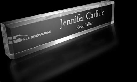 etched glass desk name plates etched glass desk name plates 100 images
