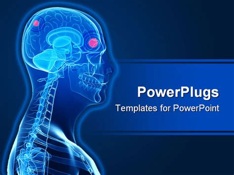 powerpoint templates brain blank brain template images