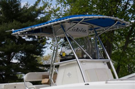 boat canvas florida center console canopy dolphin pro t top folding center