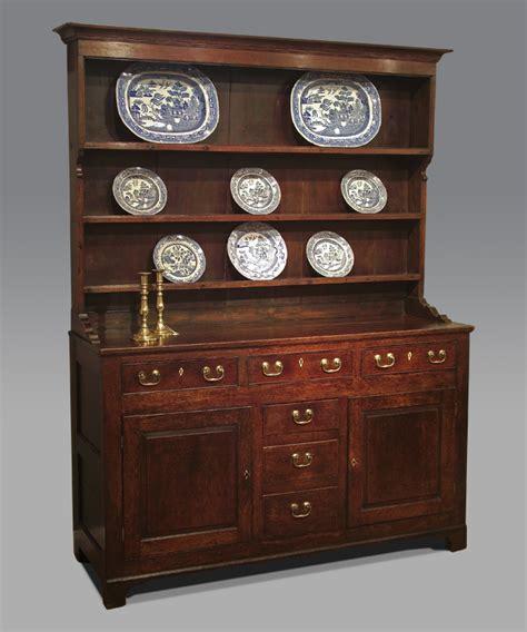 Antique oak dresser, country oak dresser, antique dark oak