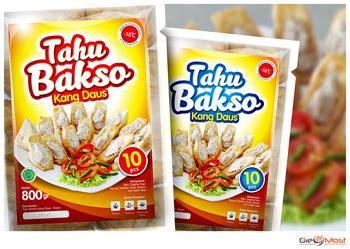 Tahu Bakso Kang Daus sribu desain label desain label tahu bakso quot kang daus quot