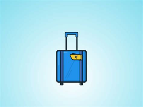 cabin bag ryanair ryanair cabin bag icon by damian bilski dribbble