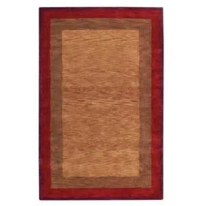 Karolus Area Rug Home Decorators Collection Karolus Rust 8 Ft X 11 Ft Area Rug 3242250180 The Home Depot