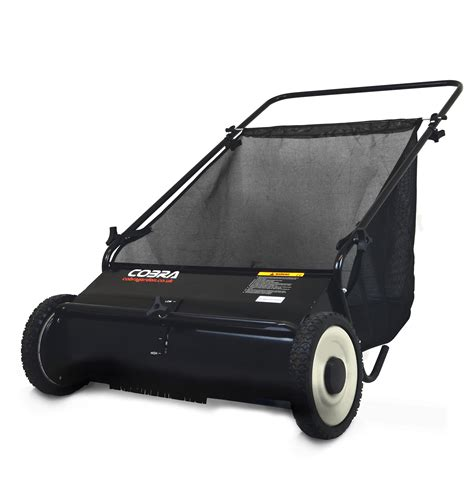 cobra pls push lawn sweeper garden machinery directcouk