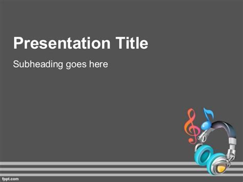 presentation music themes music powerpoint background for music teaching theme