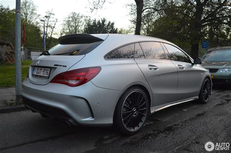 Cla 45 Amg Tieferlegen by Mercedes Benz Cla 45 Amg Shooting Brake 25 Avril 2015