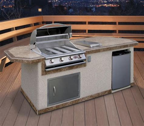 prefab outdoor kitchen cabinets prefab outdoor kitchen kits landscaping network