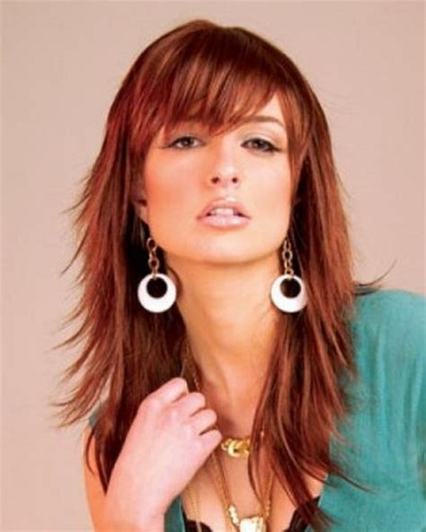 razor cut hairstyles that are in fashion this season long razored layered haircuts