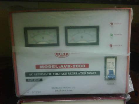Stabilizer Oki Handal 3000 Watt Oki Stabilizer sumberstavol stabilizer oki 3000 n