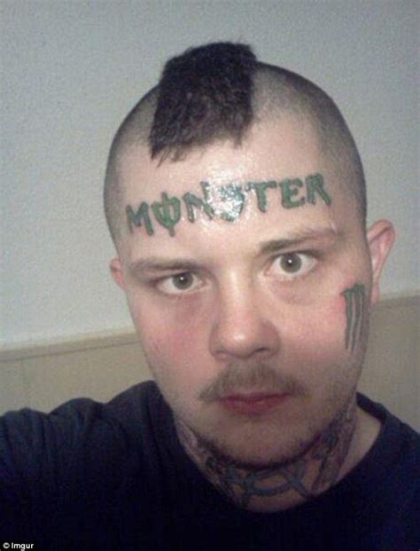 worst face tattoos worst tattoos from graphic to