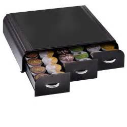 mind reader coffee pod storage drawer holder organizer