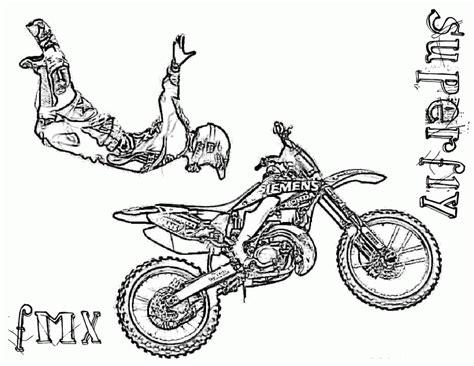 Dirt Bike Free Printable Coloring Sheets Coloringpages4kidz Com Dirt Bike Pictures To Print