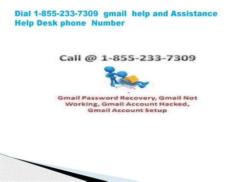 Help Desk Gmail by 1 855 233 7309 Gmail Help And Assistance Help Desk By Jhonbrown3 Issuu
