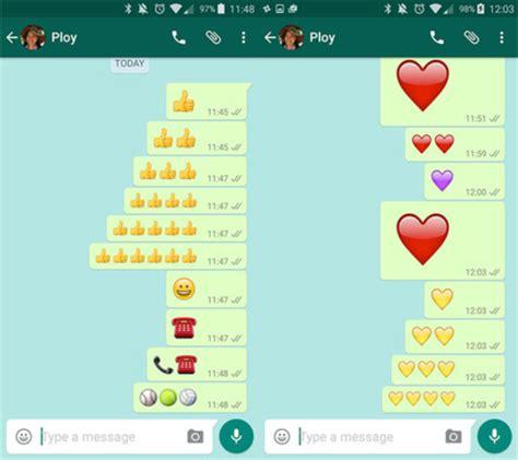 cadenas de whatsapp motivos c 243 mo usar emojis gigantes en whatsapp