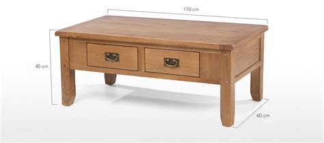 rustic desk with drawers rustic oak 2 drawer coffee table quercus living