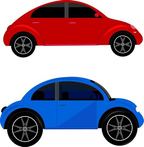 car templates for adobe illustrator car models collection in classical style free vector in